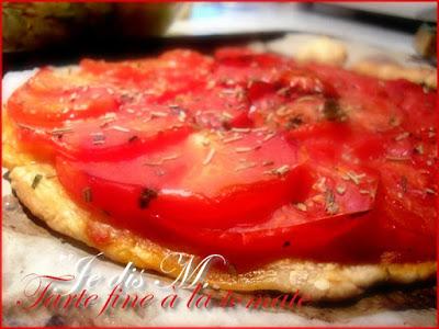 T'as l'air fine toi la tarte à la tomate