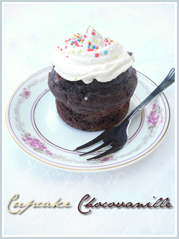 La saga cupcake continue avec les Cupcakes Chocovanille!!!