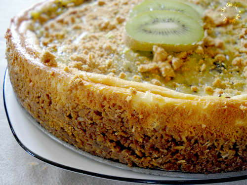Cheeeeese c'est le cake coco lime & kiwi