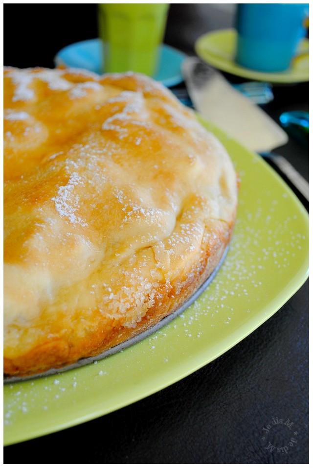 Mac et pommes dans une pie