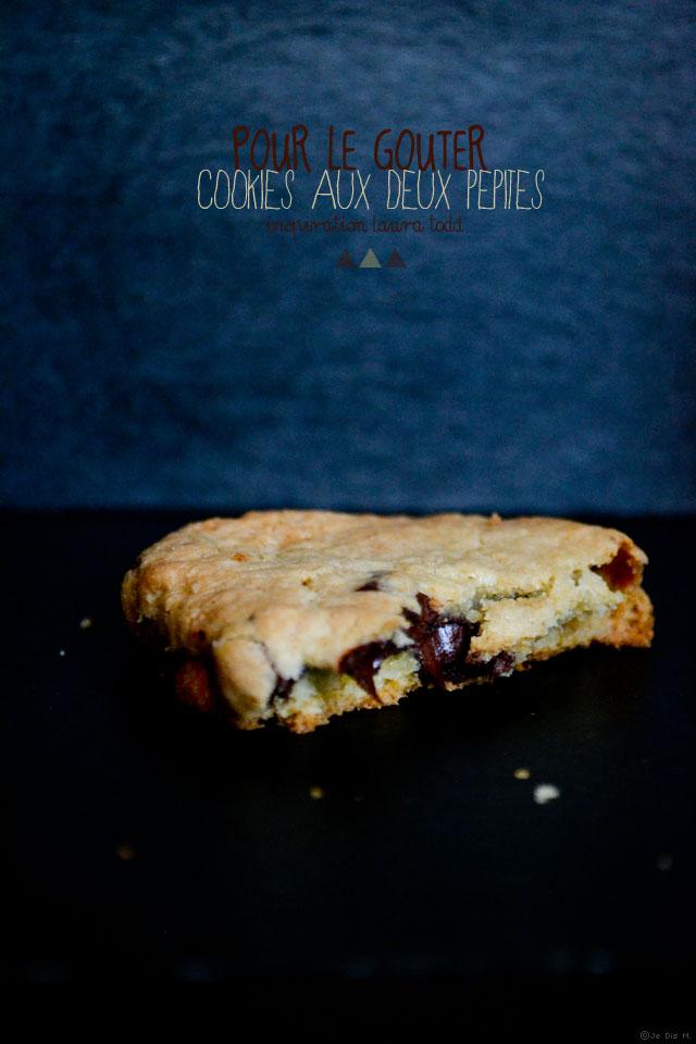 Cookies aux deux chocolats inspirés par Laura Todd
