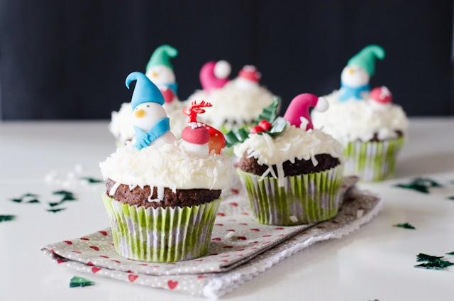 Cupcakes de Noël ChocoCoco