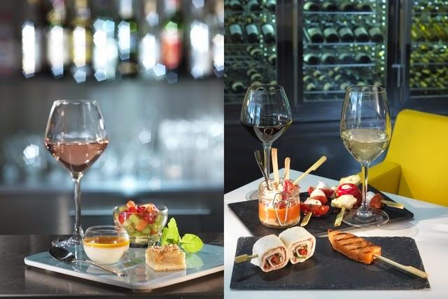 Découverte des nouveautés Mercure: vins gourmands, petits déjeuners…