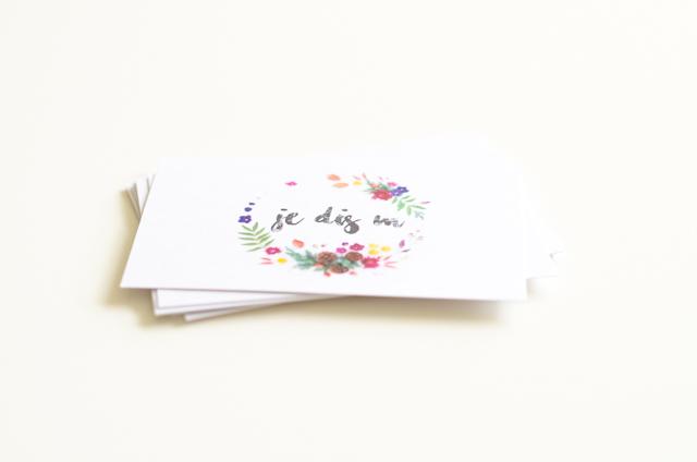 Mes cartes de visites et photos avec Prentu [Giveaway inside]