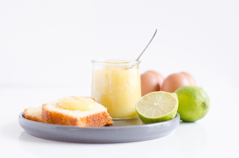Lime curd pour les addicts au citron