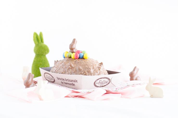 Fallue au chocolat croquant pour Pâques (Concours)