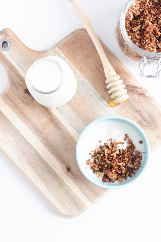 Muesli noix de coco & vanille