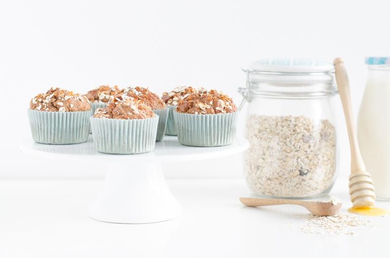 Muffins healthy pour le petit déjeuner