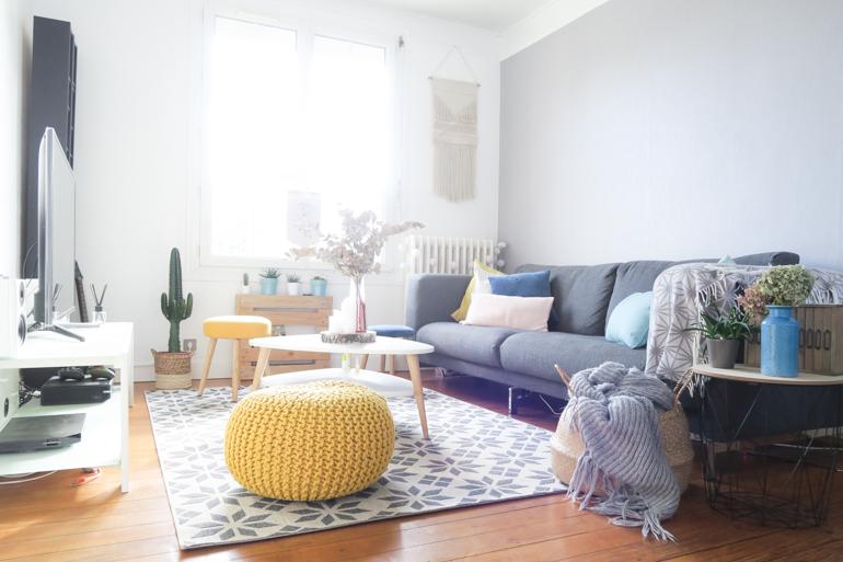 Quelques idées pour renouveler la décoration de mon salon