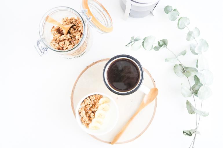 Muesli healthy et croquant noix de coco chocolat
