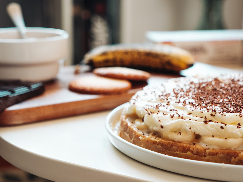 Banoffee Pie aux sablés normands